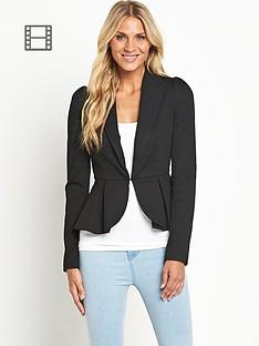 south-ponte-peplum-jacket