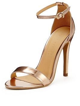 Gold Strappy Sandals: Gold Sandals Very