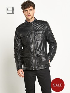 goodsouls-mens-four-pocket-leather-jacket