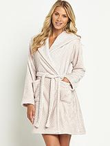Spot Luxury Touch Short Robe