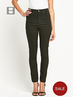 love-label-high-waisted-forrest-green-tube-jeans