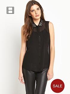 definitions-embellished-sheer-gem-blouse