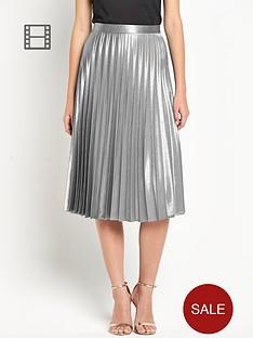 definitions-sunray-pleated-midi-skirt
