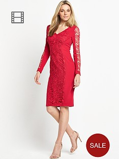 savoir-petite-lace-panel-dress