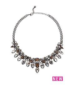 sparkle-jewel-necklace-on-gunmetal-chain
