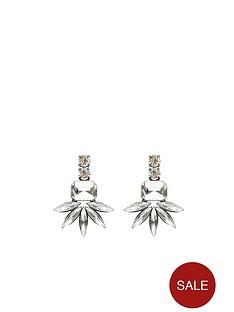 clear-jewel-silver-earrings