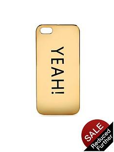 yeah-slogan-iphone-case