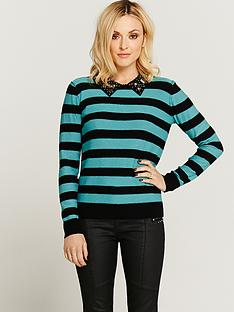 fearne-cotton-embellished-collar-jumper
