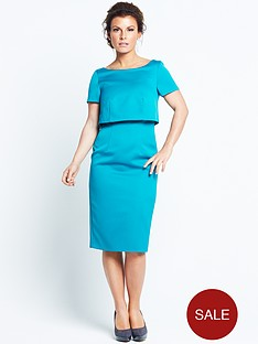 coleen-double-layer-dress