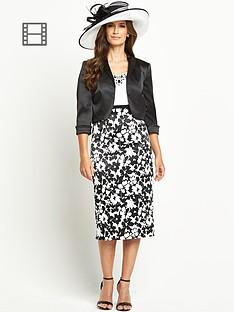 berkertex-mono-printed-dress-and-jacket-set