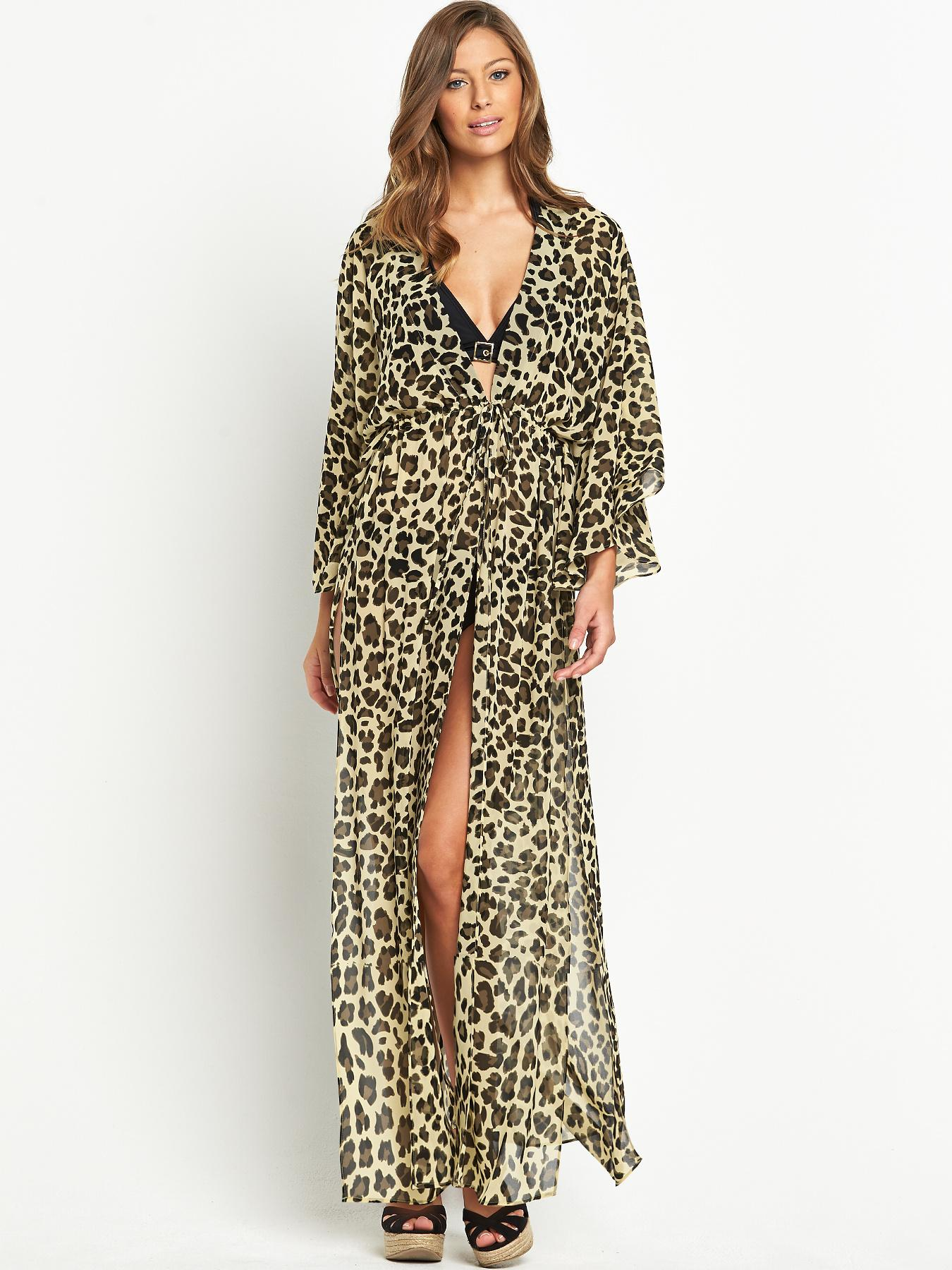 Resort Printed Beach Maxi Kaftan