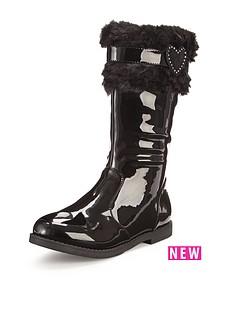 freespirit-amzie-fur-cuff-patent-tall-boots