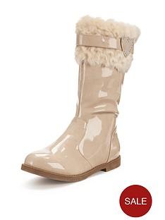 freespirit-girls-amzie-fur-cuff-patent-tall-boots