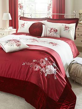 rose-bedding-range-red