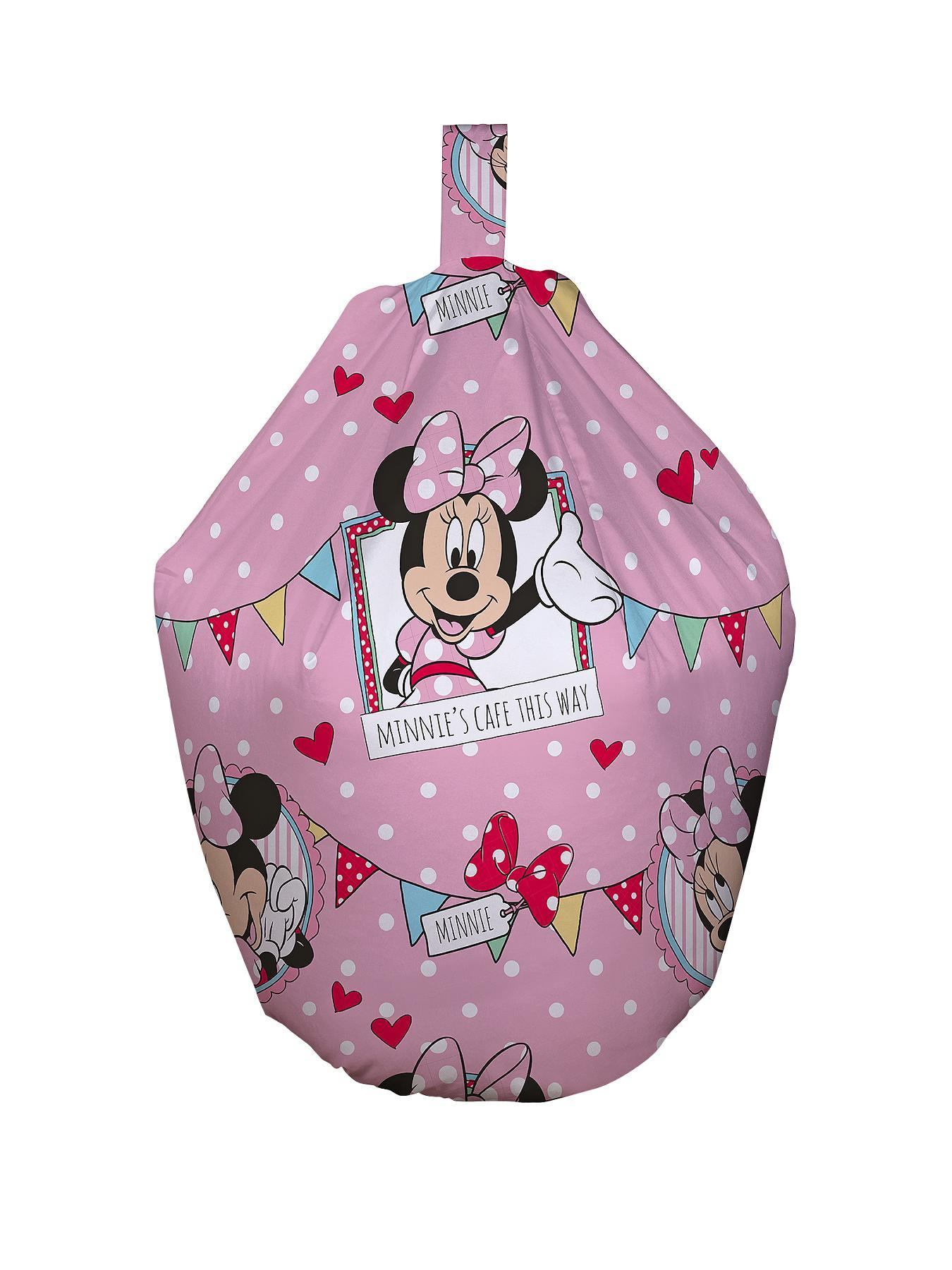 Minnie Mouse Disney Cafe Beanbag