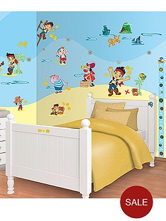 jake-and-the-neverland-pirates-walltastic-disney-jake-and-the-neverland-pirates-room-decor-kit