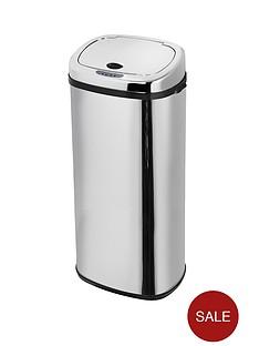 morphy-richards-50-litre-square-sensor-bin-stainless-steel