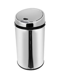 morphy-richards-30-litre-round-sensor-bin-stainless-steel