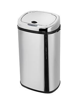 morphy-richards-42-litre-square-sensor-bin-stainless-steel
