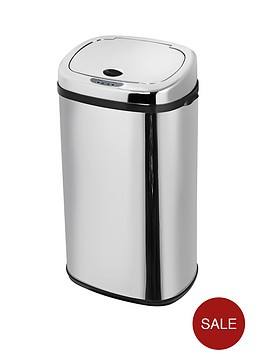 morphy-richards-42-litre-square-sensor-bin-stainless-steel