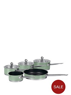 morphy-richards-5-piece-pan-set-sage