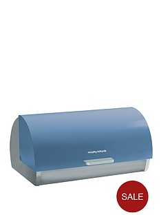 morphy-richards-roll-top-bread-bin-cornflower-blue