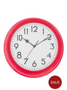 station-kitchen-clock-red