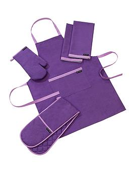 plain-and-simple-kitchen-textile-set-purple