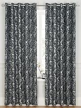 Antoinette Jacquard Eyelet Curtains