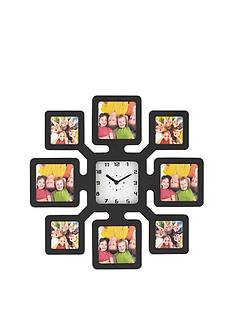plastic-photo-frame-clock