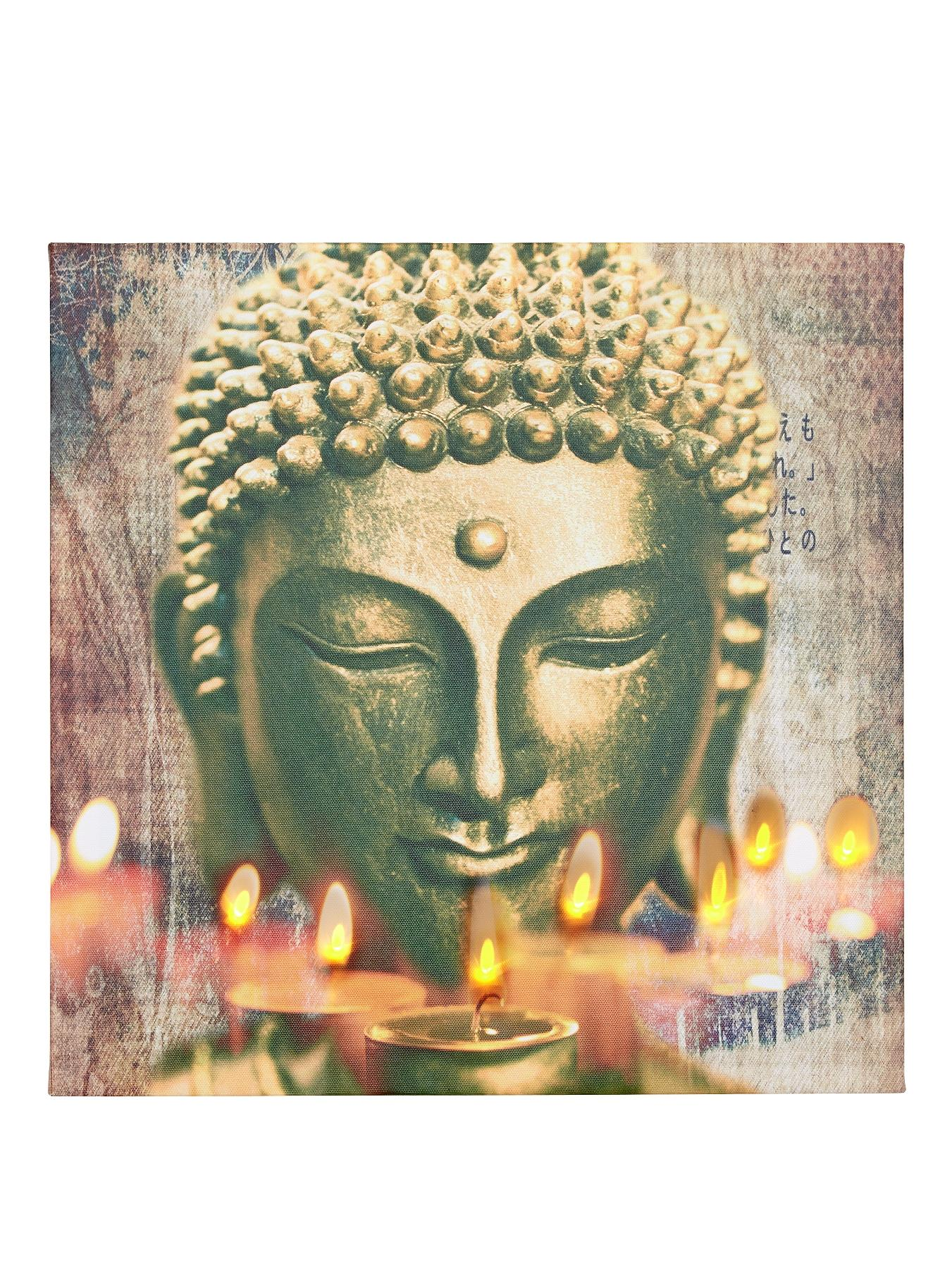 Buddha LED Wall Art