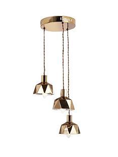 geo-cluster-ceiling-light