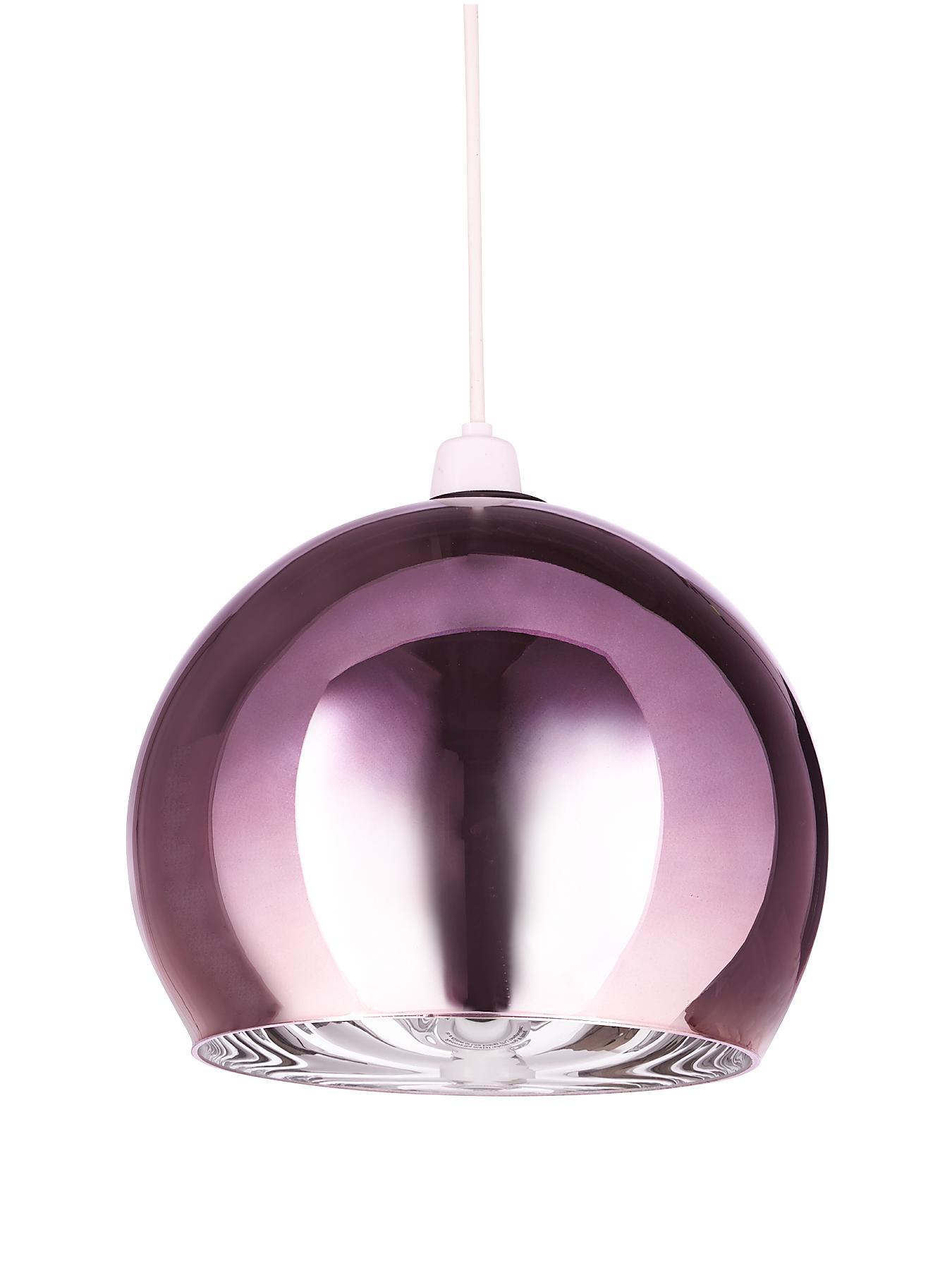 Madrid Easy Fit Pendant - Black, Black,Plum