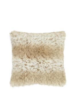 snow-leopard-faux-fur-cushion