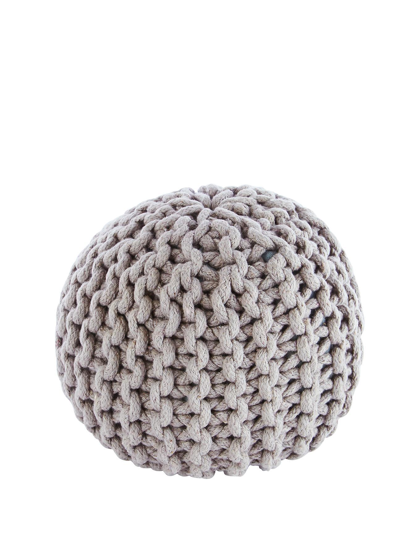 Knitted Door Stop Pod