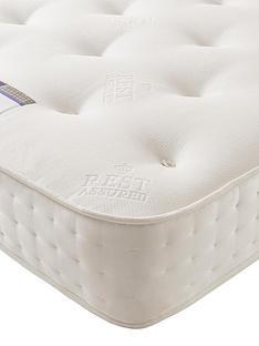 rest-assured-1200-pocket-spring-natural-tufted-mattress-firm