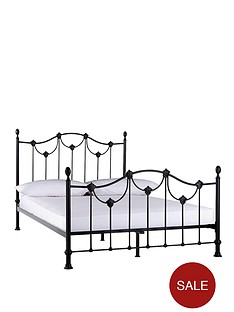laurence-llewelyn-bowen-opulenza-metal-bed-frame-with-optional-mattress