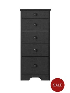 windsor-narrow-5-drawer-graduated-chest-of-drawers