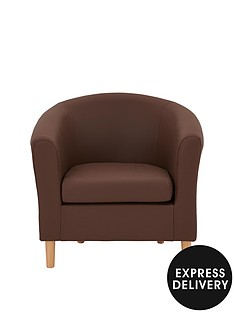 josie-faux-leather-tub-chair