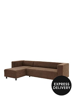clarke-faux-suede-left-hand-corner-group-sofa