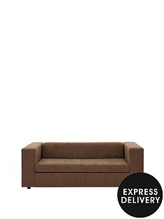 clarke-faux-suede-sofa-bed