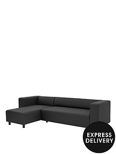 clarke-faux-leather-left-hand-corner-group-sofa