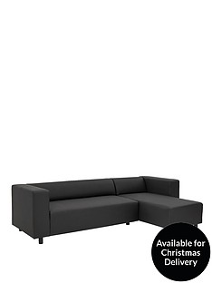 clarke-faux-leather-right-hand-corner-group-sofa