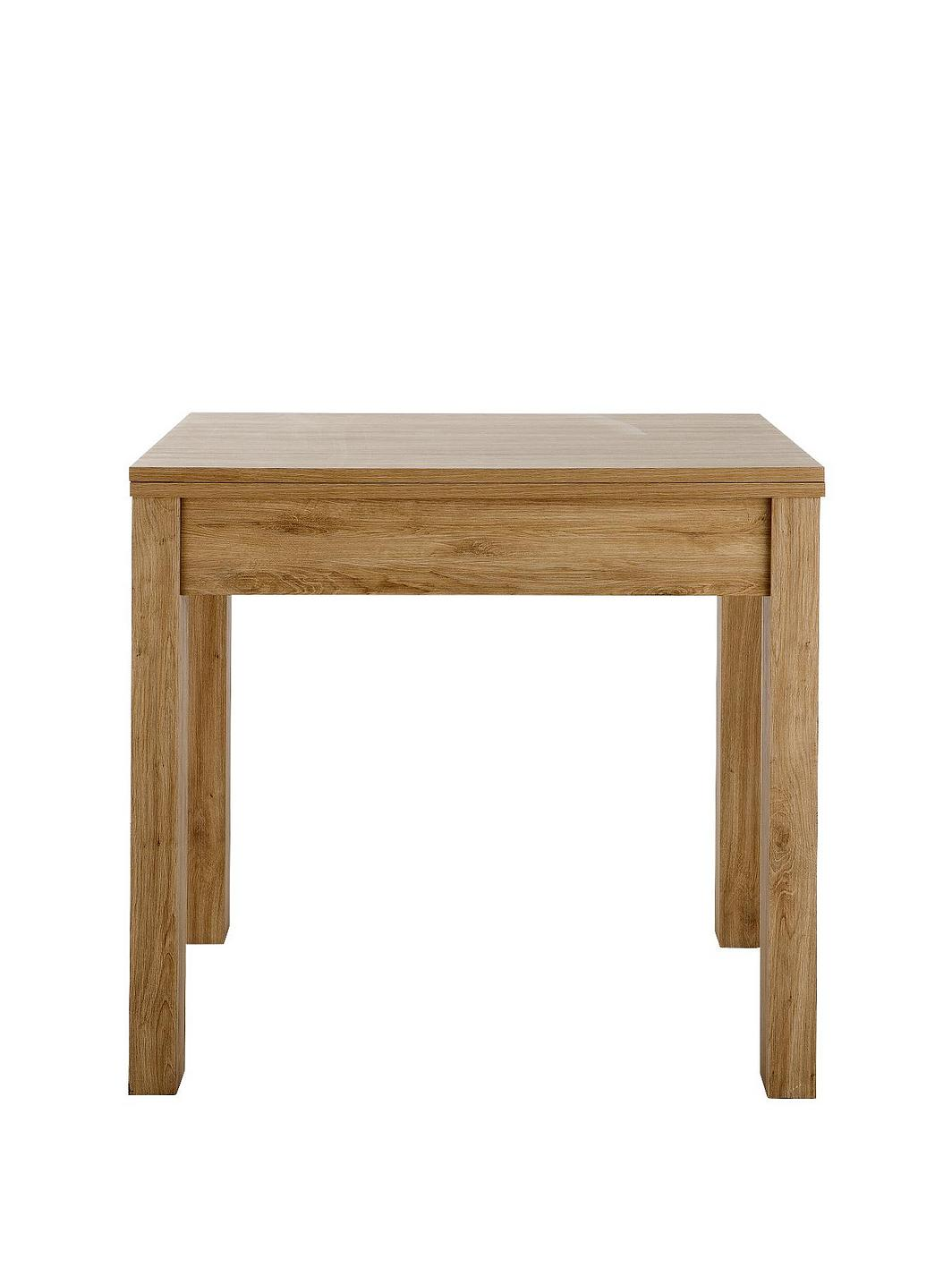 Square To Rectangle Extending Dining Table