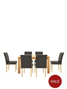 verona-150-cm-dining-table-6-faux-leather-chairs