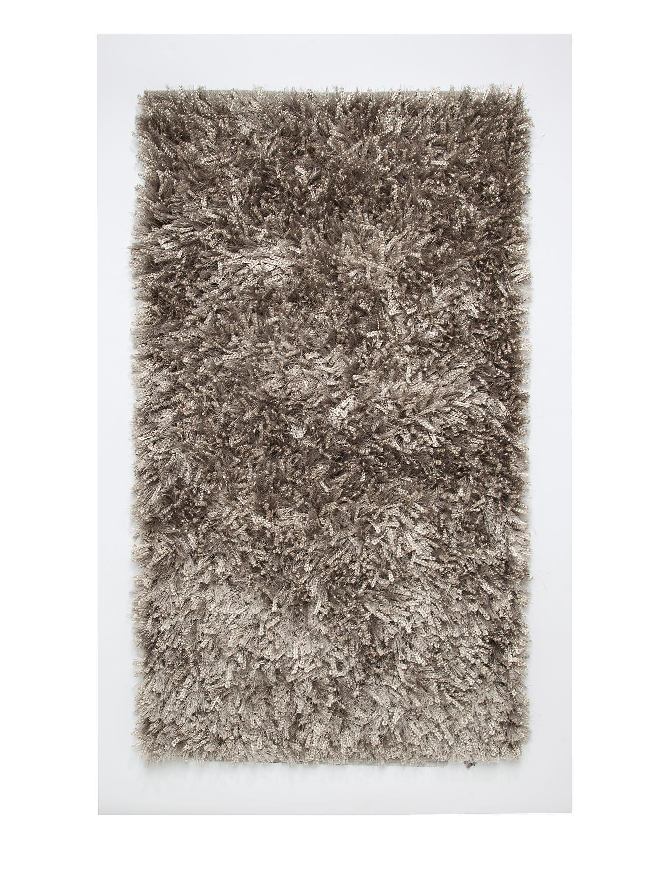 Glimmer Bathmat - White, White,Black,Red,Grey