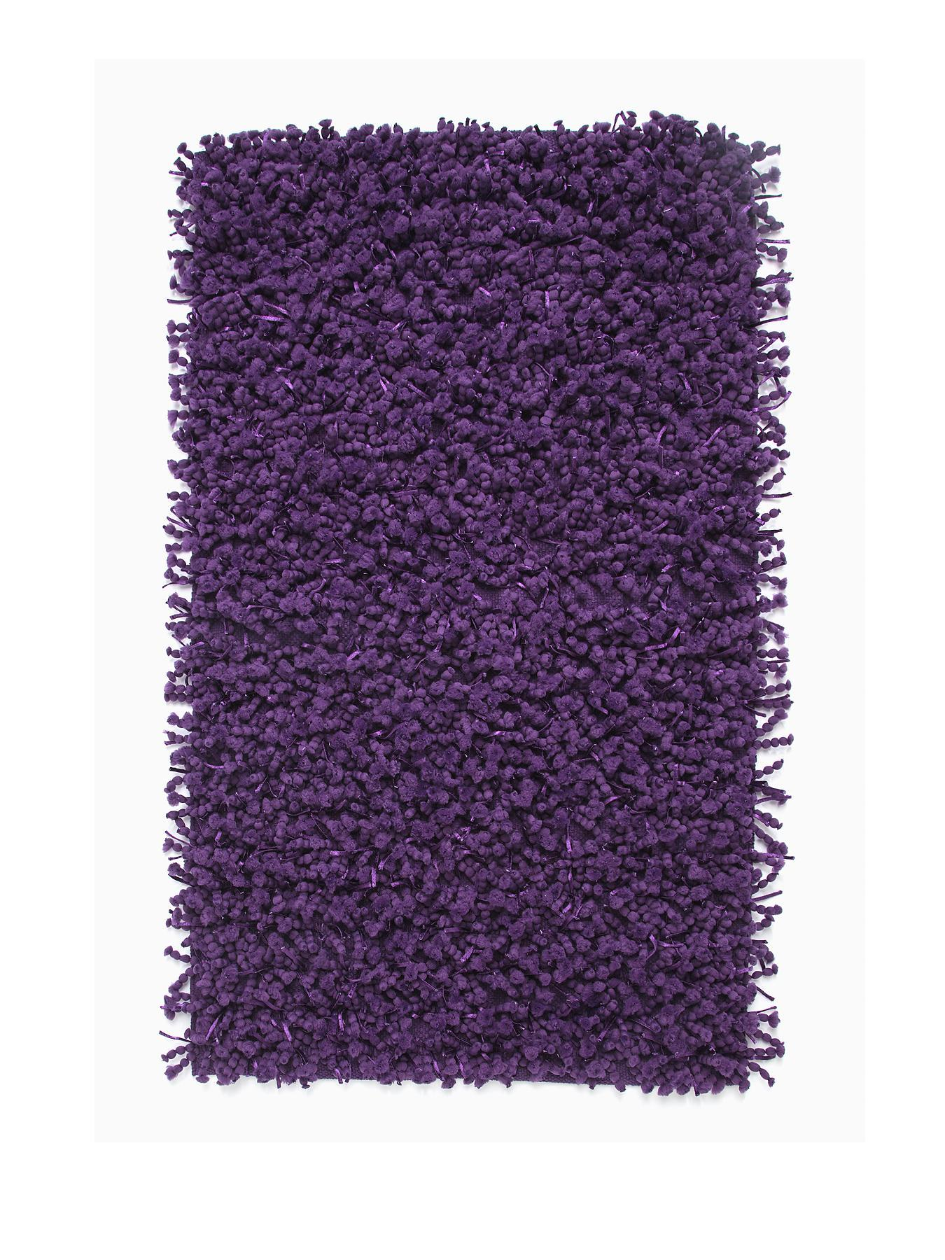 Bobble Bathmat - Purple, Purple,White,Black,Teal