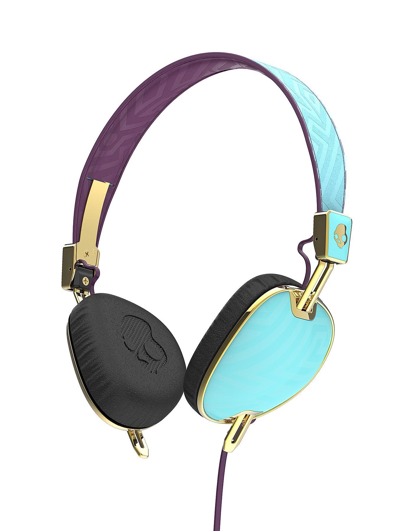 Skullcandy Knockout S5AVGM-396 Over-Ear Headphones - Robin