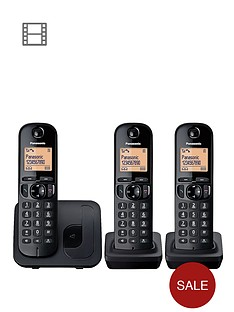 panasonic-tgc-213eb-cordless-telephone-with-nuisance-call-block-trio
