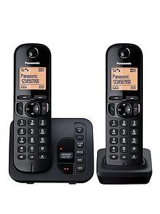 panasonic-tgc-222eb-cordless-telephone-with-answering-machine-and-nuisance-call-block-twin